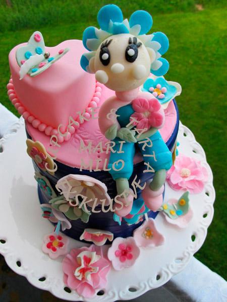 Fiffi födelsedagstårta