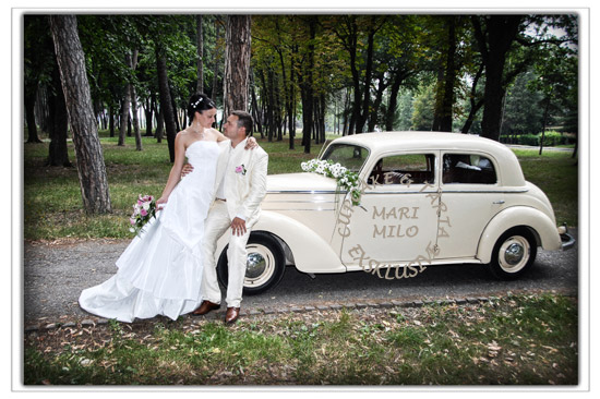 Romantiskt bröllop och äkta kärlek