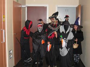 Halloween dräkter