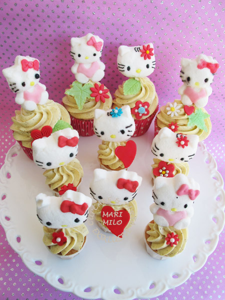 Hello Kitti Love Cupcakes