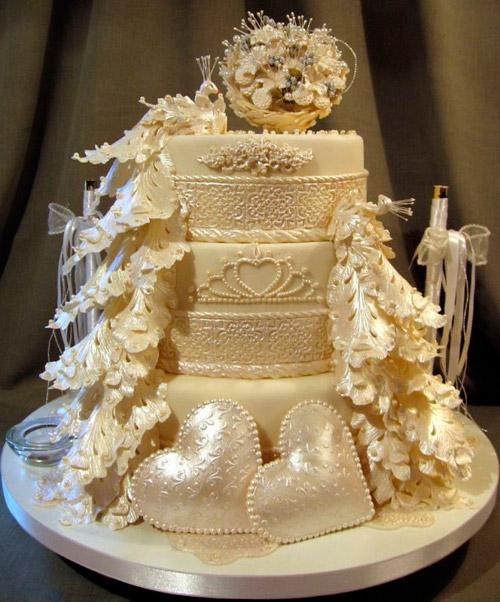Valentin tarta vinnar på Cake Central