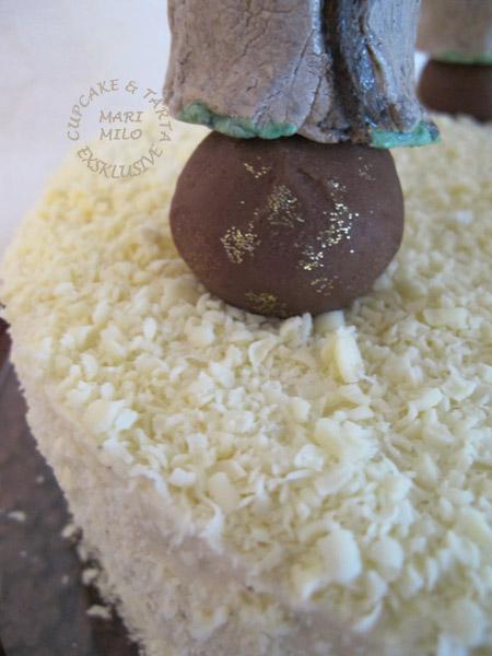 Yoda på en Choklad Cake Pops