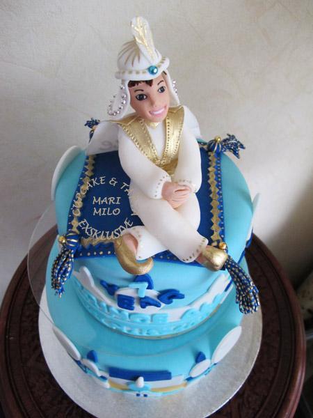Aladdin födelsedagstårta