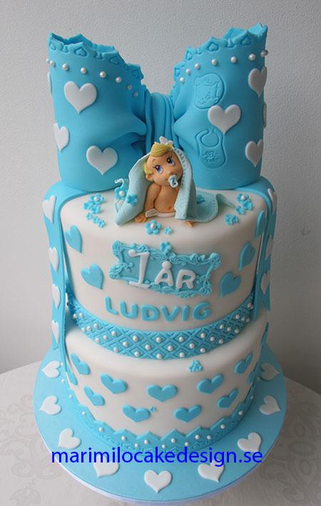 Doptårta och 1 års tårta Malmö