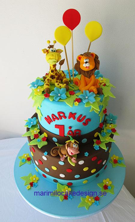 儿童蛋糕1年男孩|马里米洛蛋糕设计