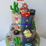 bilar-cars-tarta-cake
