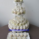 Wedding-cake-pop mini-cupcakes