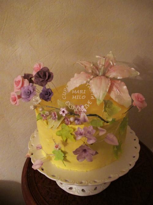 Brollopstårta till 30 personer