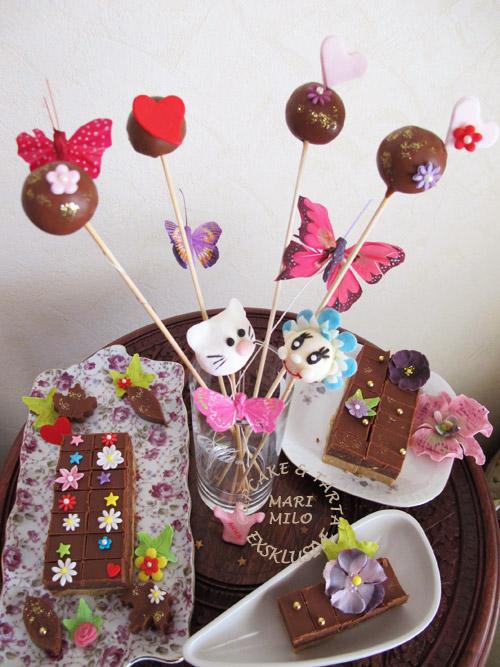 Cake Pops Bajadera