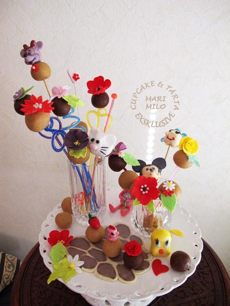 Cake Pops barn kalas by Mari Milo