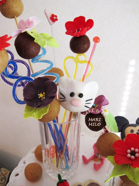 Cake Pops till barn kalas by Mari Milo