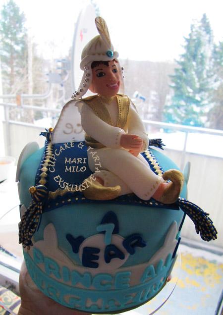 Cake Prince Ali Aladdin