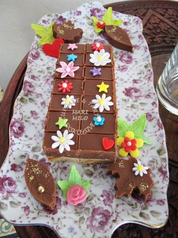 Chokladakor till fest och fika Bajadera
