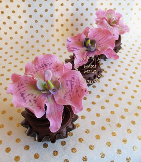 Bröllops Cupcakes