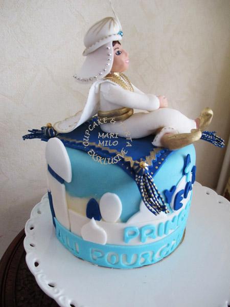 Kalastårta Prins Ali, Disney tårta