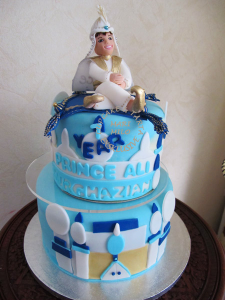 Prins Ali barntårta