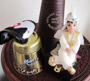 Prins Ali Aladdin sockerfigur till barntårta