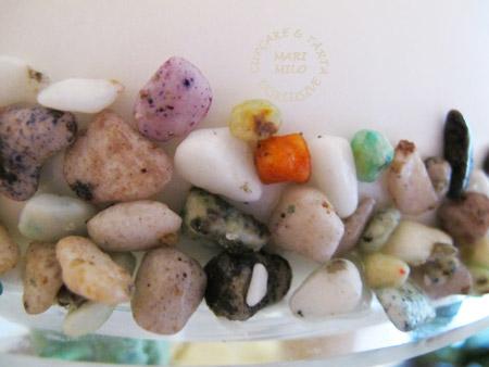 Stenar ätbart gudis dekoration