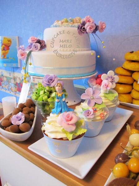 Barndop cupcakes