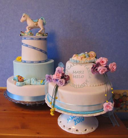 Tårtor för barndop