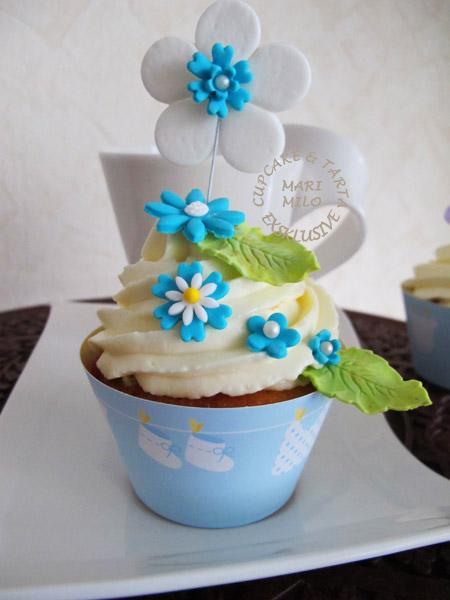 Cupcakes när man ska döpa barn