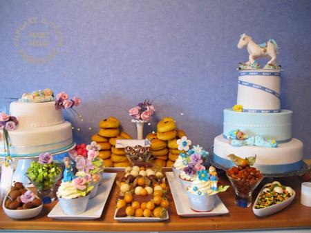Dessertbord till dop och födelsedagsfäst
