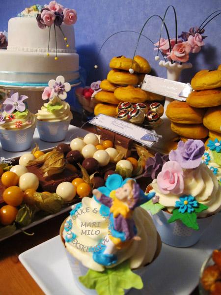 Dessertbord barndop