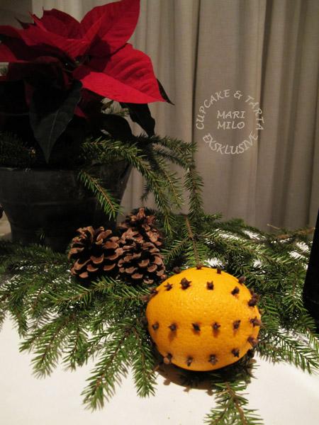 Jul apelsiner och nejlikor