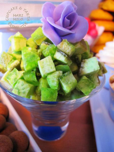 Pomelo hälsosamt och nyttig godis