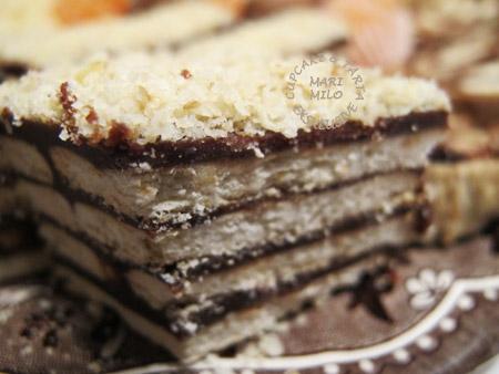 Vegan kex chokladtårta