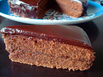 Sacher tårta - bild lånad av Snjeza