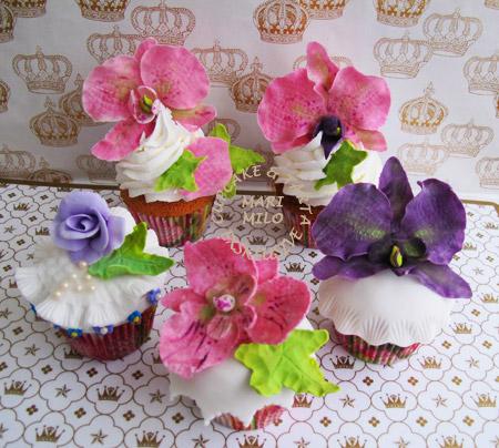 Bröllopscupcakes