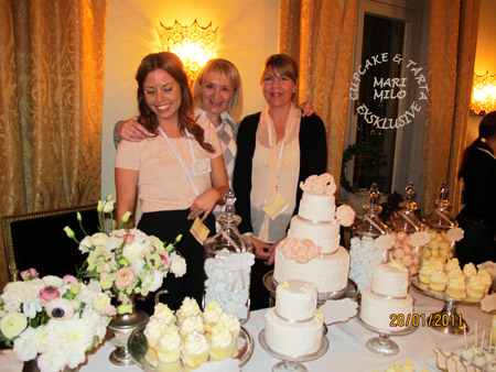 Linda, Christina, deras cupcakes, tårtor och jag, Mari Milo