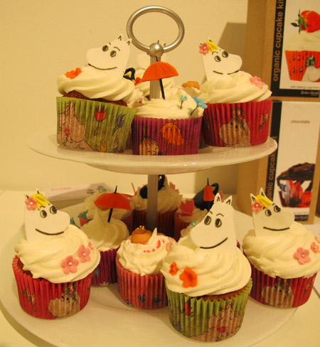 Mumin cupcakes by Lisa