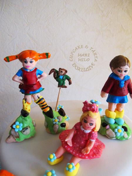 Pippi, Tommy, Annika och Herr Nilsson