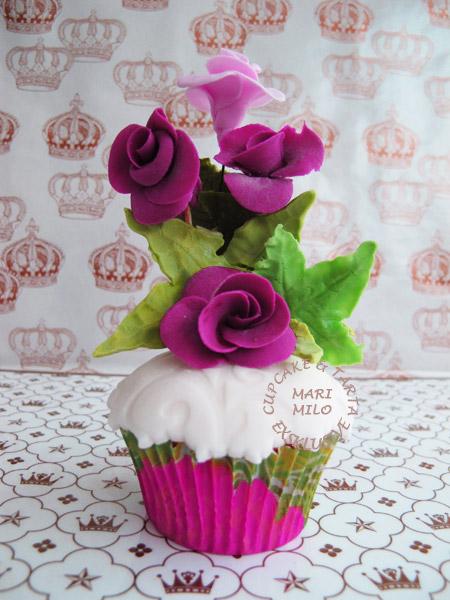 Cupcakes för en prinssesans bröllop