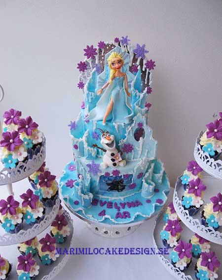 Frost Tårta och cupcakes