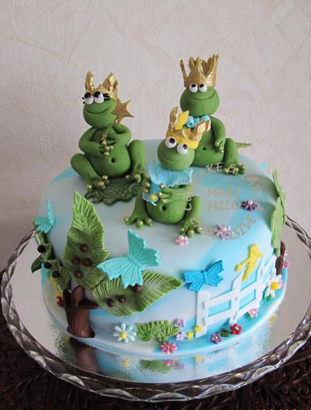 Tårta med grodor