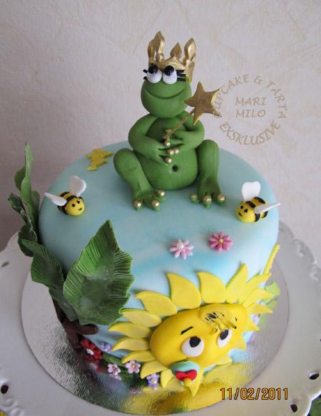 Grodprinsessa-tårta