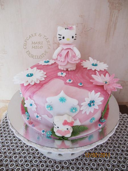 Hello Kitty tårta 16 bitar