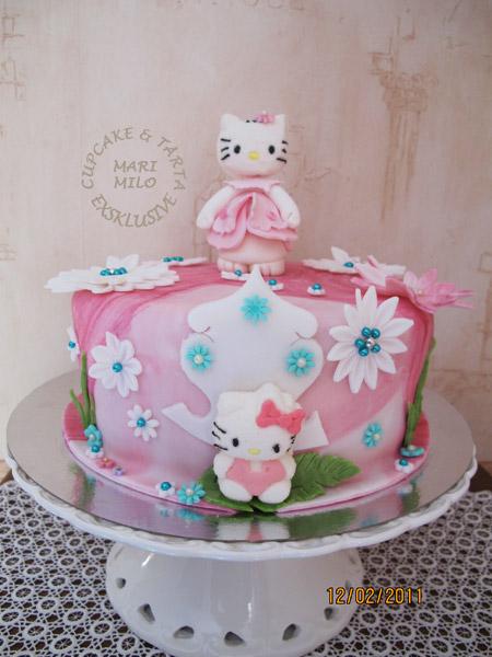 Hello Kitty tematårta
