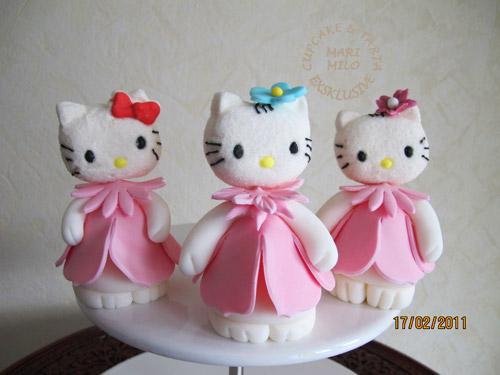 Hello Kitty sockerfigurer