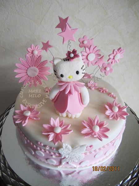 Hello Kitty tårta