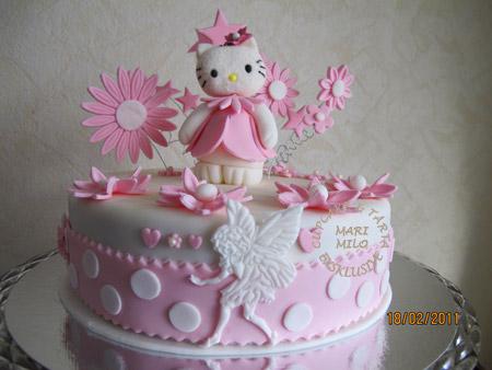 Hello Kitty, tårta för Masha