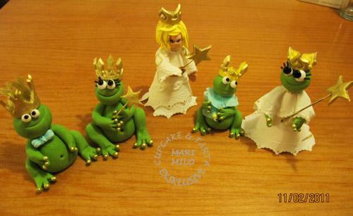 Små grodorna, familj