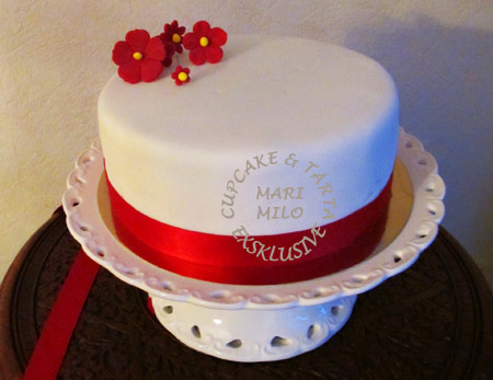 Alla hjärtansdags tårta