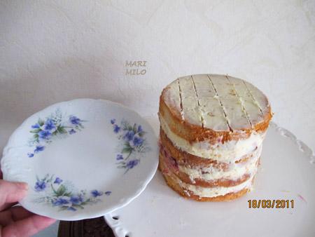 6 bitars tårta