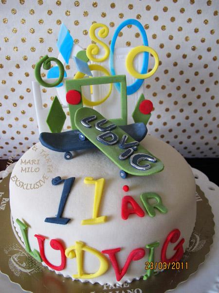 Födelsedagstårta till pojkar