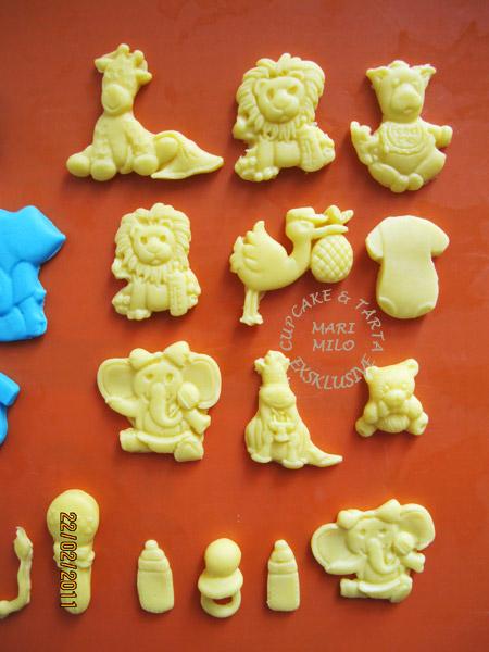 Cupcakes, bebis dekoration