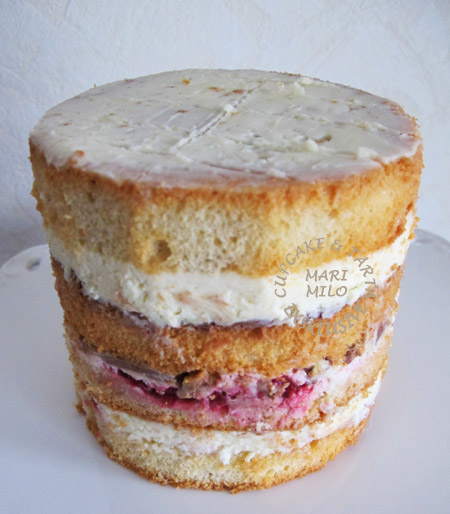 Hallon tårta